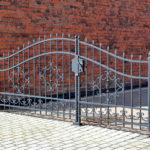 Westminster gate installation