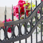 ornamental iron fence in Denver