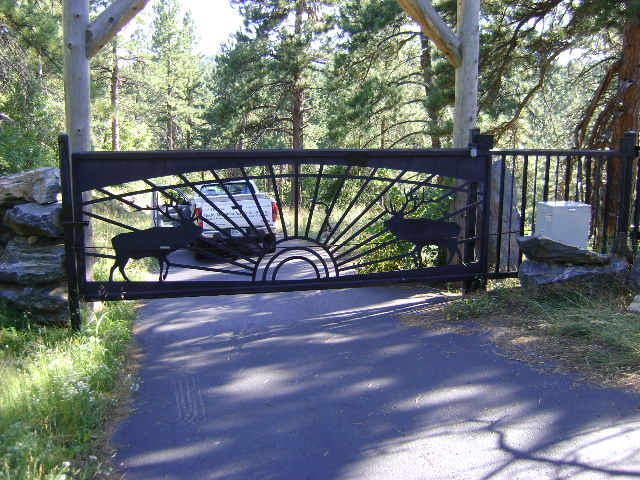 Mountain Home Slide Gate