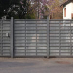 Westminster gate installation helps with security during home remodels