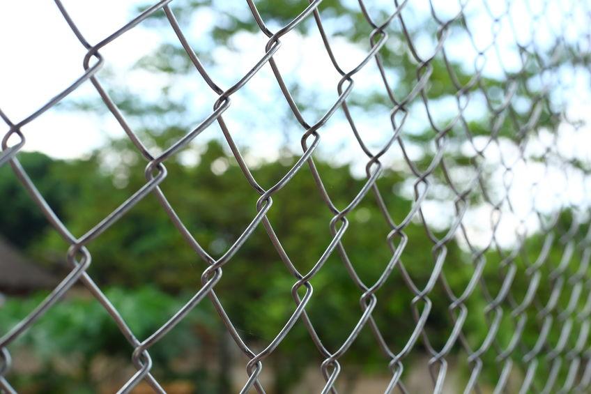 chain link fence in Denver