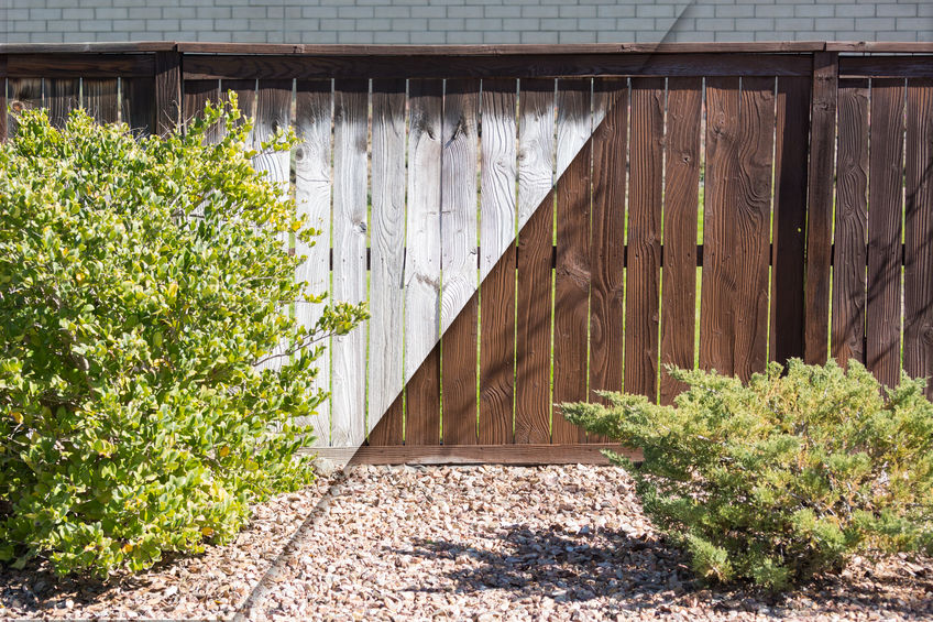 residential fencing Denver pros can stain your fence