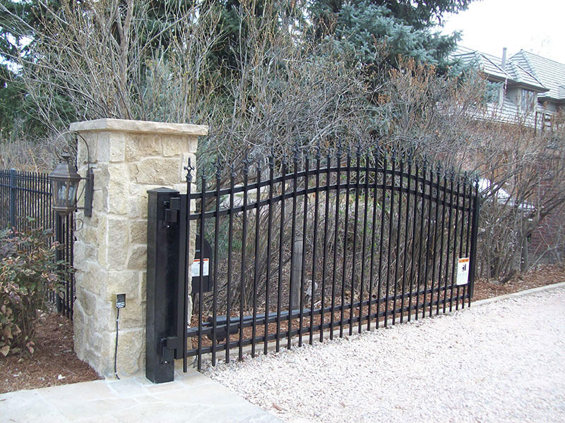 Ornamental-Iron-Swing-Gate