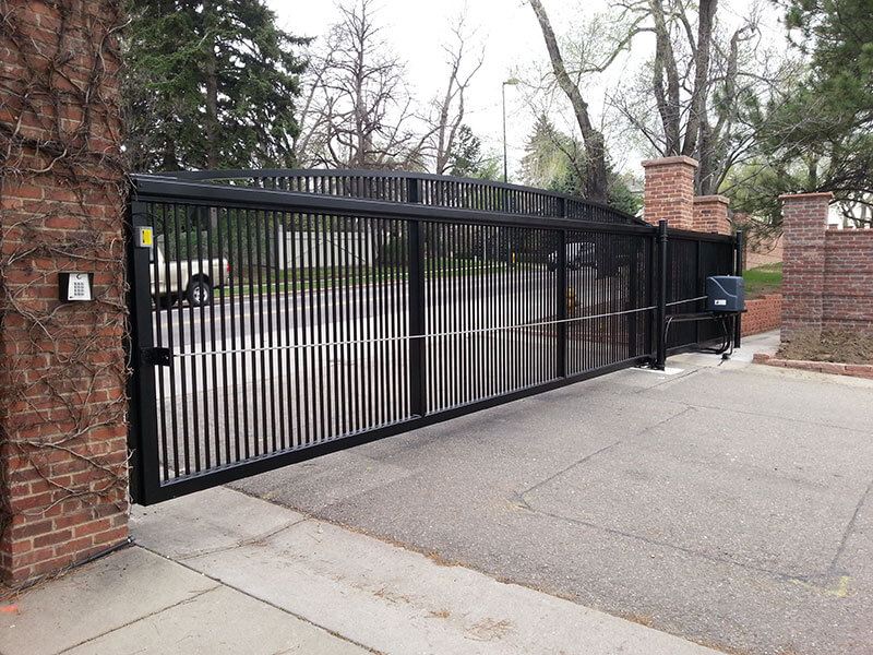 Residentail-Ornamental-Iron-Slide-Gate-with-Operator