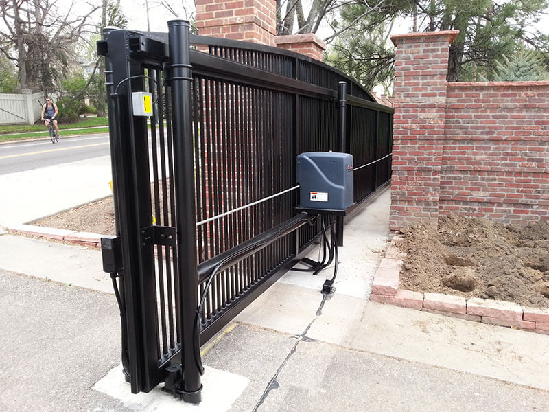 Residential-Ornamental-Aluminum-Slide-Gate-with-Operator