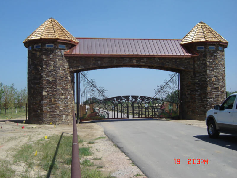 Residential-Ornamental-Iron-Gates