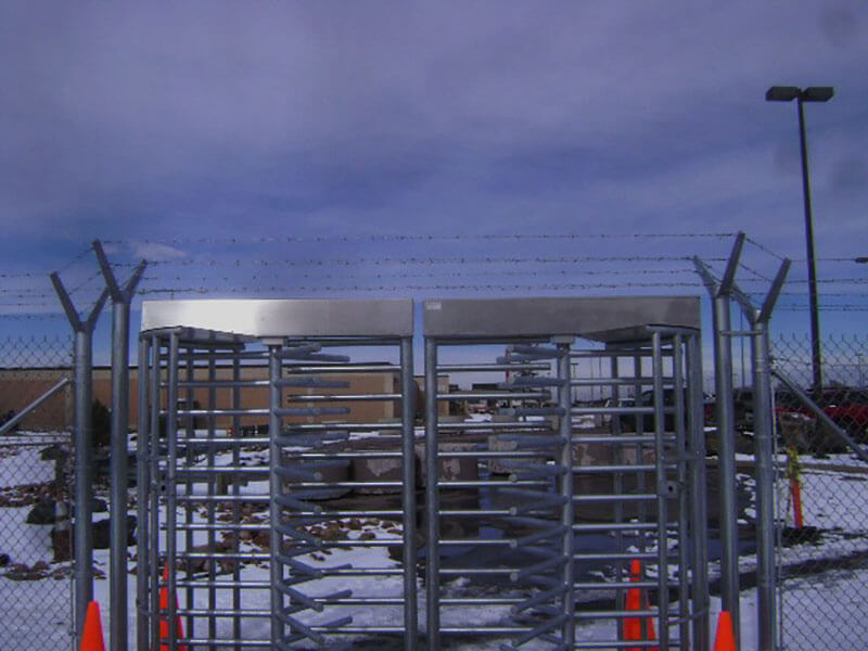 SBIRS-Fence-Project-7-Feb-11-Barb-wire-over-turnstiles