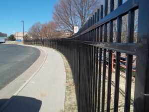 commercial Arvada fence company