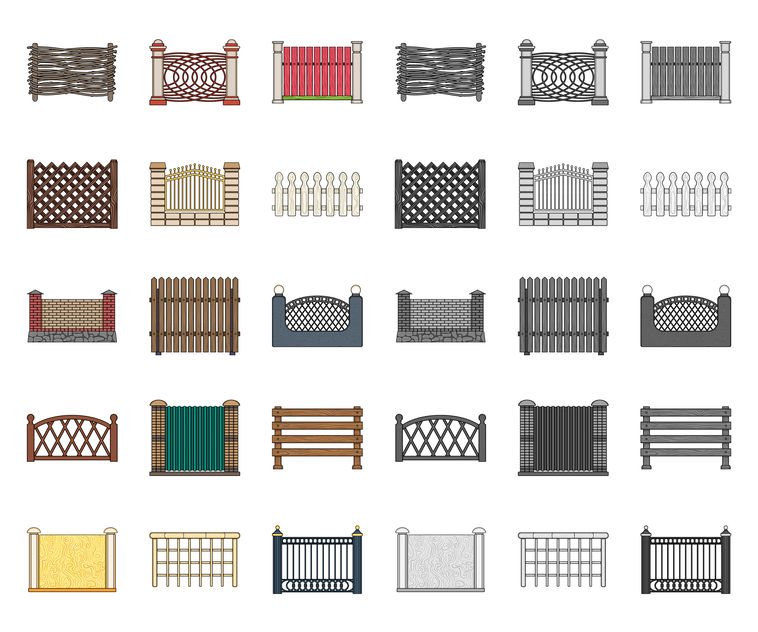 Arvada fence company materials