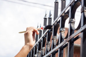 , Things to Consider Before Repainting Your Fence, Metro Fence