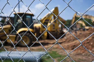 , Fences Used to Protect Construction Sites, Metro Fence