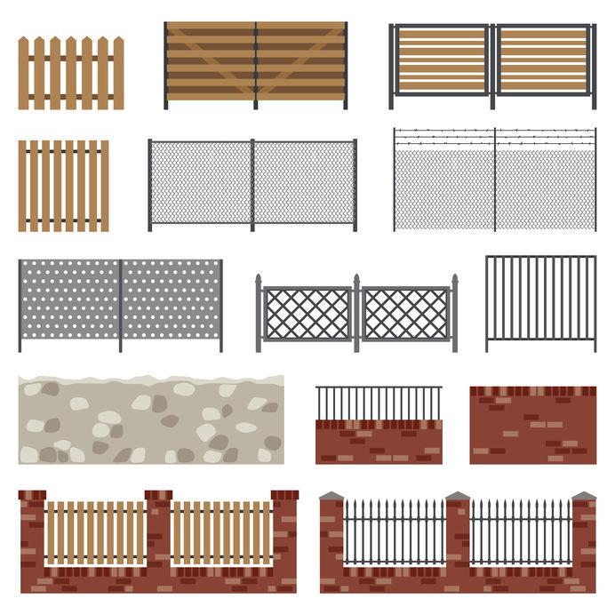 Thornton fencing materials