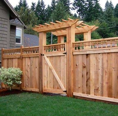 Denver garden gate