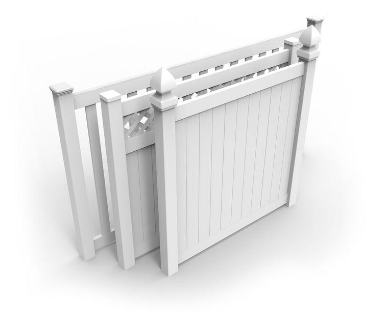 vinyl Brighton fencing