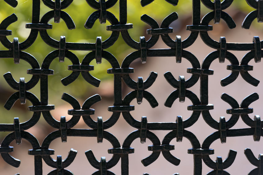 ornamental iron fence Denver design