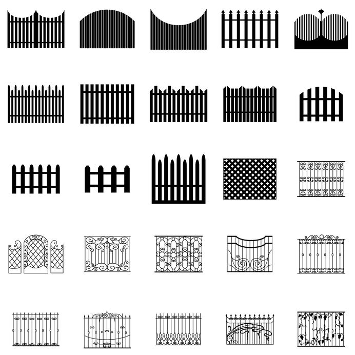 Metro Fence Company - fence designs