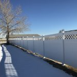 Local Denver fence companies install vinyl fencing