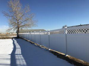 Local Denver fence companies install vinyl fencing
