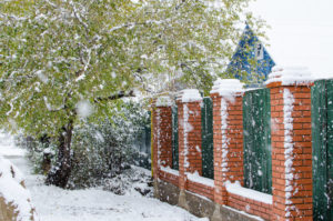 , Can a Fence Be Installed during The Winter Months?, Metro Fence, Metro Fence