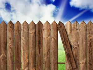 Thornton fencing repair