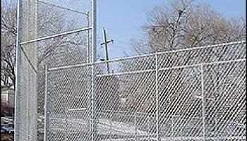 commercial chain link fence installation near me