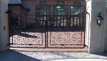 Dual-Swing-Ornamental-Iron-Gate