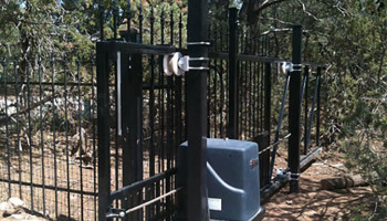 Solar-Powered-Ornamental-Iron-Slide-Gate